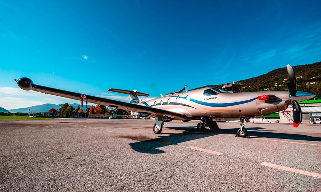 air dynamic jet fleet pilatus