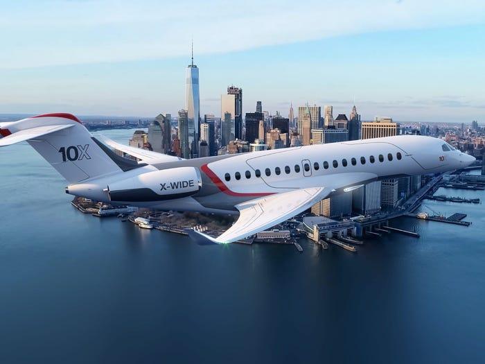 Private Jet Lugano Airport AirDynamic Falcon